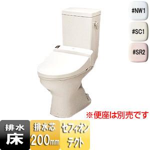 組み合わせ便器[旧セレストR][床:排水芯200mm][手洗い無し][レギュラーサイズ][防露なし][一般地]