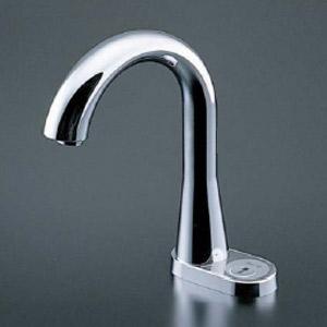TEN86G|洗面用蛇口 アクアオート[台][自動水栓][混合水栓][φ28 ...