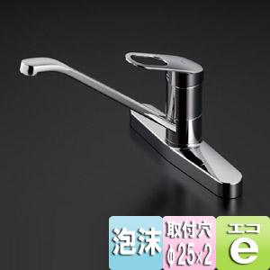キッチン用蛇口 GGシリーズ[台][エコシングル水栓][シングルレバー混合水栓][一般地]