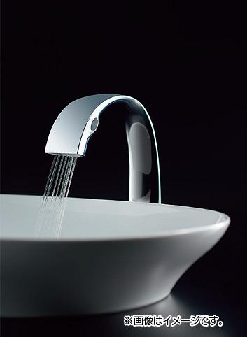 TLP01S01J|洗面用蛇口[台][自動水栓][AC100Vタイプ][首長164mm][一般地 ...