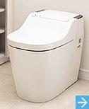panasonic アラウーノ あなたに代わってお掃除するトイレ。