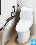 LIXIL(INAX):アメージュZAシャワートイレ オンナゴコロに応える機能とシンプルデザイン。
