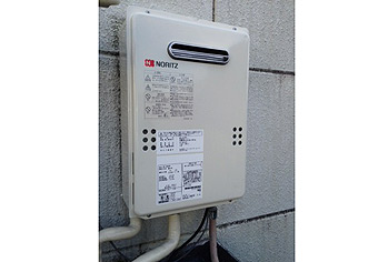 ガス給湯器取替工事 東京都新宿区 GQ-1639WS