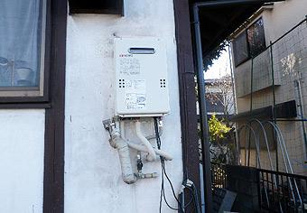 ガス給湯器取替工事 埼玉県さいたま市 GQ-1639WS-set