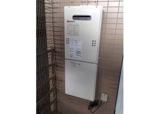 ガス給湯器取替工事 石川県金沢市 GQ-1639WS