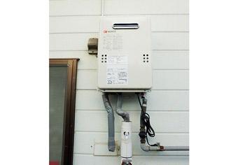 ガス給湯器取替工事 山口県下関市 GQ-1639WS