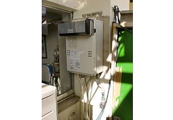 ガス給湯器取替工事 兵庫県神戸市 GQ-1639WS-set