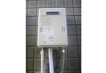 ガス給湯器取替工事 神奈川県大和市 GQ-1639WS-set
