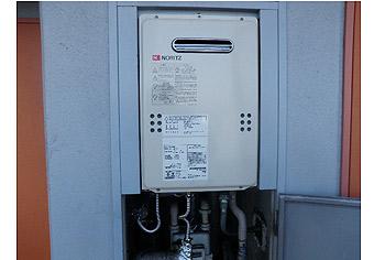 ガス給湯器取替工事 神奈川県相模原市 GQ-1639WS
