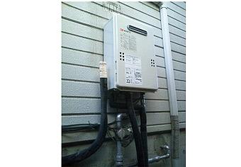 ガス給湯器取替工事 静岡県富士市 GQ-1639WS-set