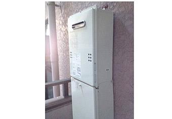 ガス給湯器取替工事 神奈川県横浜市 GQ-1639WS-set