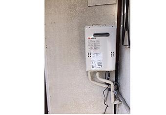 ガス給湯器取替工事 堺市東区 GQ-1639WS