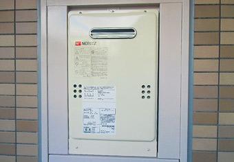 ガス給湯器取替工事 千葉県千葉市 GQ-1639WS