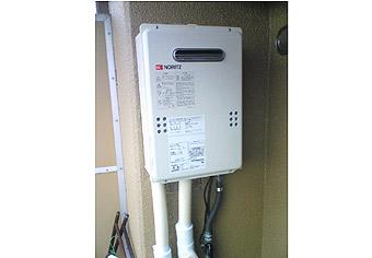 ガス給湯器取替工事 広島県広島市 GQ-1639WS-set