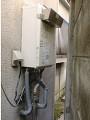 ガス給湯器取替工事 兵庫県伊丹市 GQ-1639WS-set