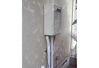 ガス給湯器取替工事 神奈川県藤沢市 GQ-1639WS