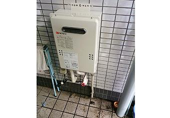 ガス給湯器取替工事 千葉県千葉市 GQ-1639WS-set