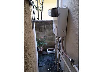 ガス給湯器取替工事 東京都北区 GQ-1639WS-set