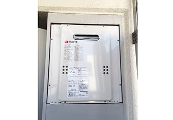 ガス給湯器取替工事 神奈川県横浜市 GQ-1639WS