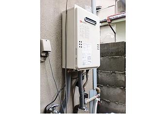 ガス給湯器取替工事 大阪府大阪市 GQ-1639WS