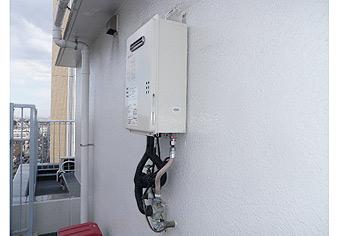 ガス給湯器取替工事 東京都小金井市 GQ-1639WS-set