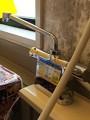 混合水栓取替工事 神奈川県横浜市 BF-B646TSD(300)-A85
