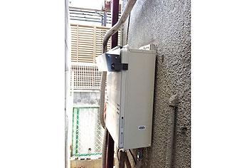 ガス給湯器取替工事 奈良県奈良市 GQ-1639WS-set