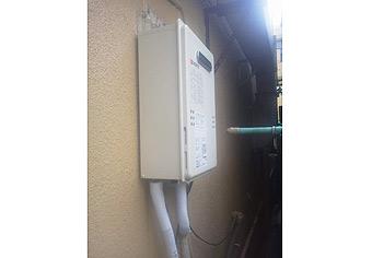 ガス給湯器取替工事 東京都中野区 GQ-1639WS