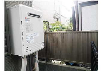 ガス給湯器取替工事 東京都小金井市 GT-C2452SAWX-2 BL-set