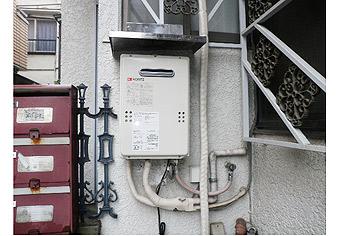 ガス給湯器取替工事 東京都杉並区 GQ-1639WS-set