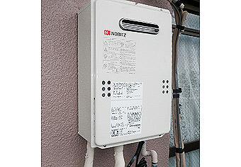 ガス給湯器取替工事 東京都板橋区 GQ-1639WS-set