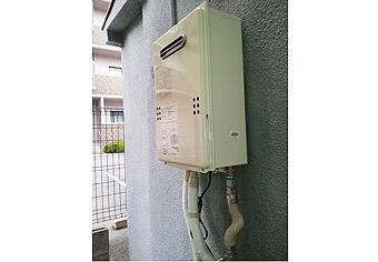 ガス給湯器取替工事 大阪府羽曳野市 GQ-1639WS-set