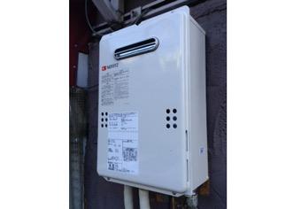 ガス給湯器取替工事 東京都渋谷区 GQ-1639WS-set