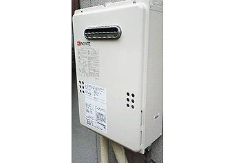 ガス給湯器取替工事 広島県安芸郡 GQ-1639WS-set