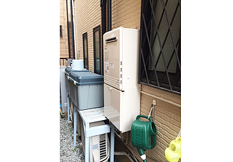 ガス給湯器取替工事 埼玉県さいたま市 GT-C2452SAWX-2 BL