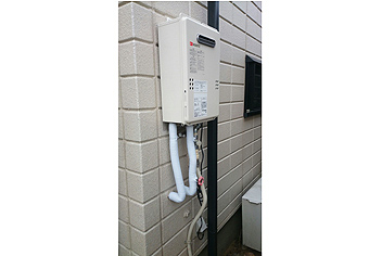 ガス給湯器取替工事 千葉県柏市 GQ-1639WS-set