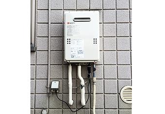 ガス給湯器取替工事 兵庫県宝塚市 GQ-1639WS-set