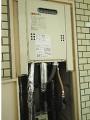 ガス給湯器取替工事 東京都調布市 GQ-1639WS-set