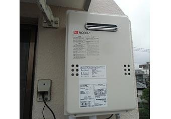 ガス給湯器取替工事 東京都大田区 GQ-1639WS