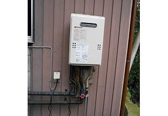 ガス給湯器取替工事 千葉県香取市 GQ-1639WS