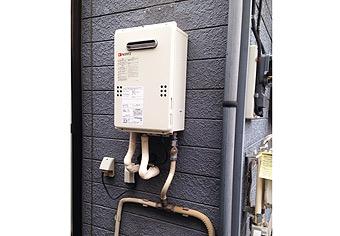ガス給湯器取替工事 東京都江戸川区 GQ-1639WS