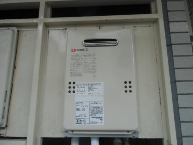 給湯器・ガス配管取替工事 神奈川県横浜市金沢区 GQ-1639WS