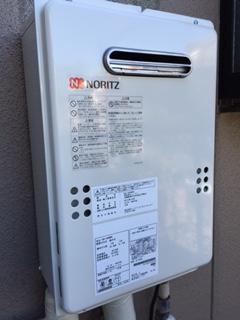 給湯器・ガス配管取替工事 神奈川県横須賀市 GQ-1639WS-set