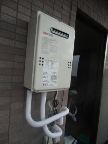給湯器取替・ガス配管取替 神奈川県川崎市川崎区 GQ-1639WS-set