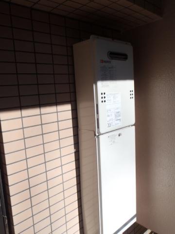 給湯器取替工事/ガス配管取替え 神奈川県横浜市青葉区 GQ-1639WS-set