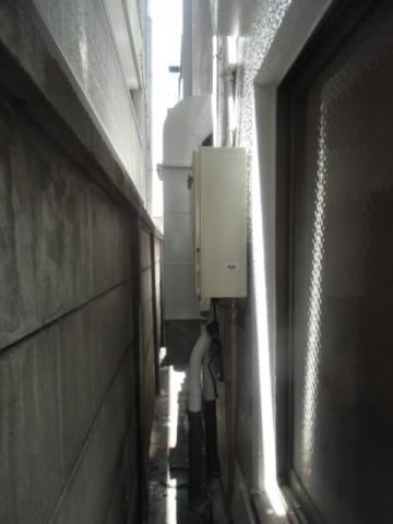 給湯器取替/2名作業 東京都渋谷区 GQ-1639WS