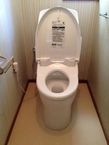 トイレ取替工事 千葉県船橋市 CES967M-NW1