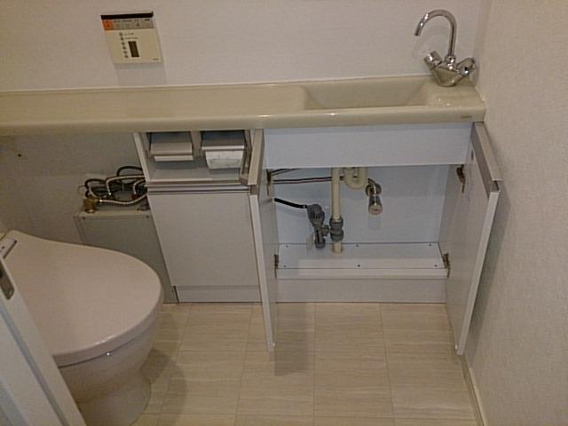小型温水器取付工事(筒井) 東京都港区 EHPN-F6N3