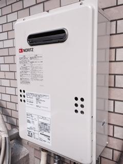 給湯器・ガス配管取替工事 東京都荒川区 GQ-1639WS