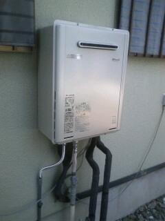 給湯器取替工事(2台) 静岡県富士市 RUF-E2405SAW-13A-set